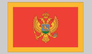 Flag of Montenegro (Nylon)