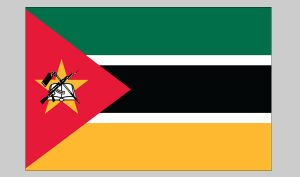 Flag of Mozambique (Nylon)