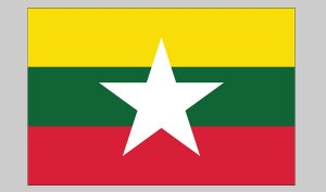 Flag of Myanmar (Nylon)