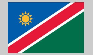 Flag of Namibia (Nylon)