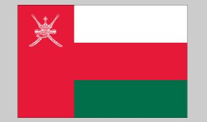 Flag of Oman (Nylon)