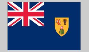 Flag of Turks & Caicos (Nylon)