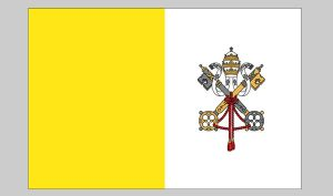 Flag of Vatican City (Nylon)