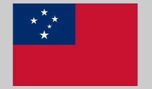 Flag of Western Samoa (Nylon)