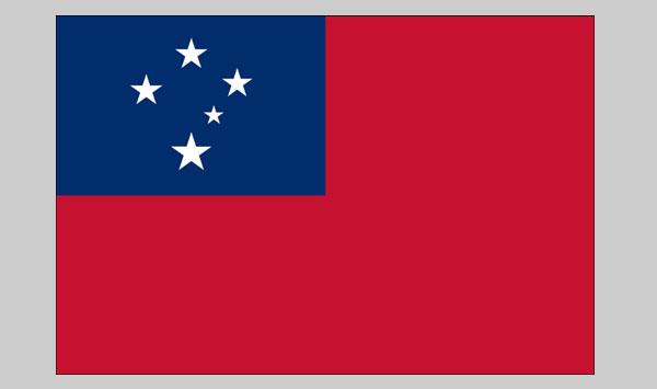 Western Samoa Flag