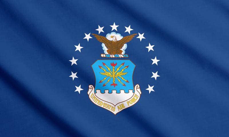 the history of the Air Force flag